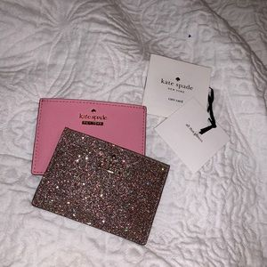 2 BRAND NEW KATE SPADE CARD HOLDERS